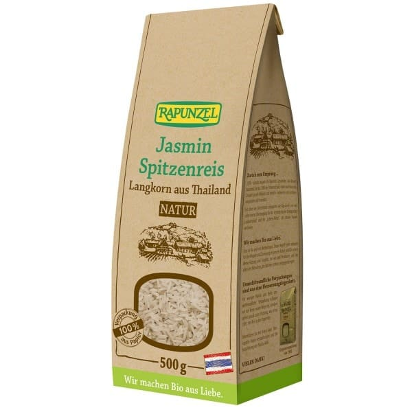 Rapunzel JASMINE LACE RICE long grain natural, organic, 500g