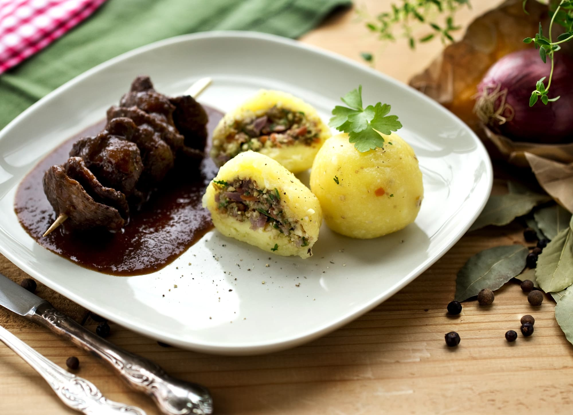 SOJAFILETS SAUERBRATEN-ART