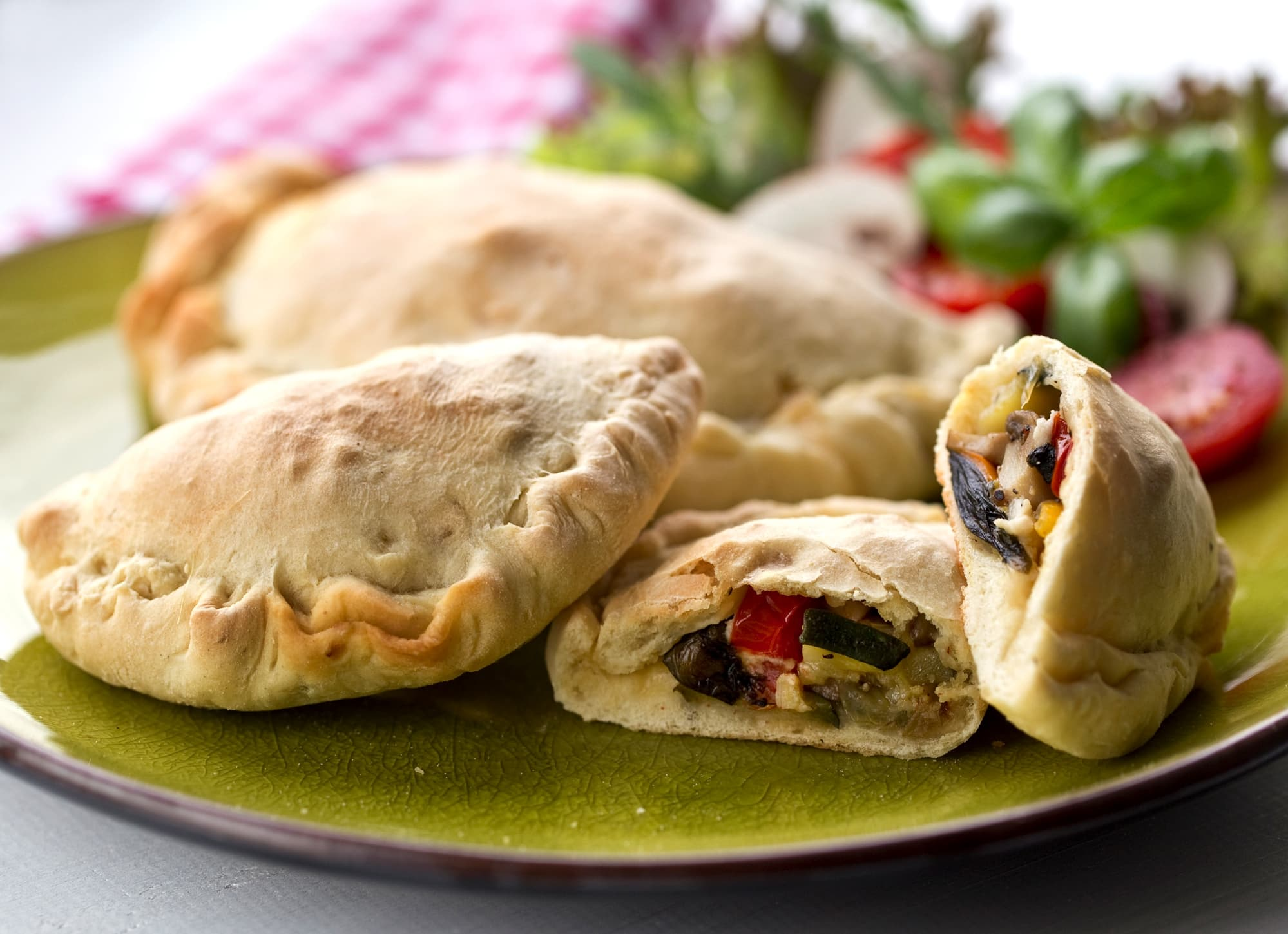 Mini Vegetable Calzone