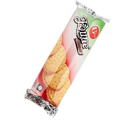 FOURRE Sandwich Biscuits Stawberry, 300g