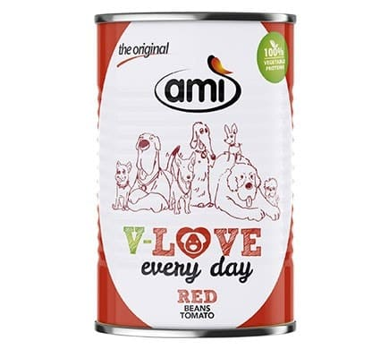 Ami V-LOVE every day RED beans tomatoes, 400g