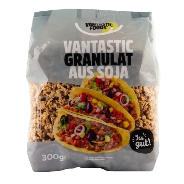 Vantastic foods VANTASTIC GRANULES from soy, 300g