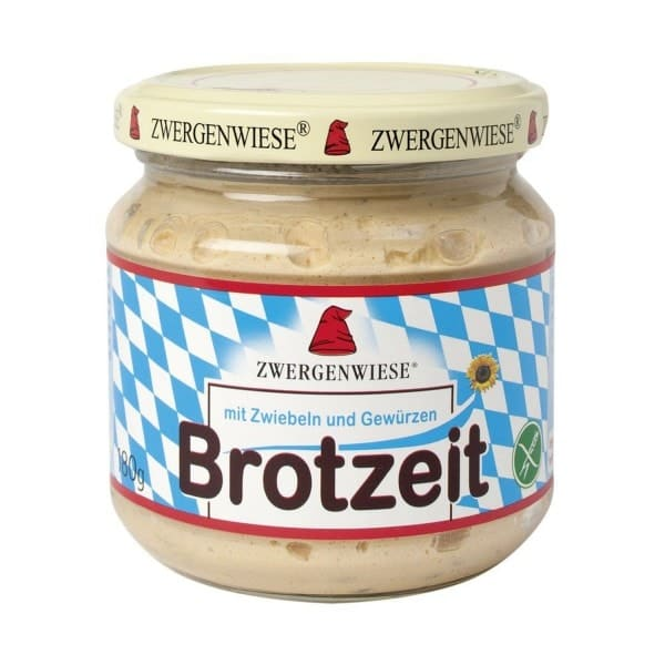 Zwergenwiese Organic BROTZEIT Spread, 180g