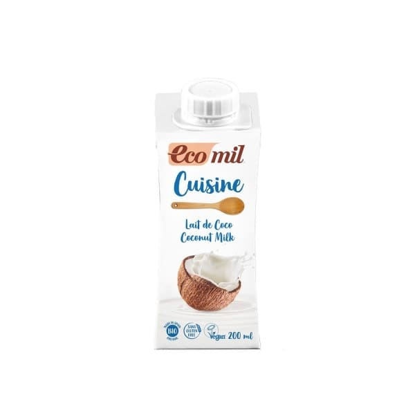EcoMil CUISINE coconut froth, organic, 200ml
