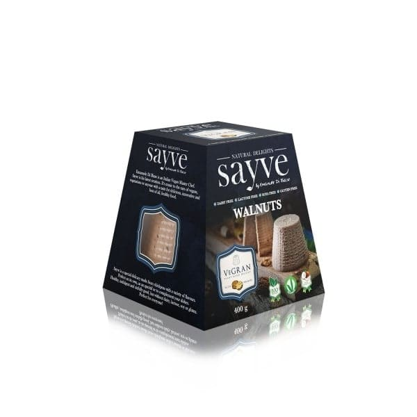 Sayve VEGRAN with Walnuts, BIO, 400g