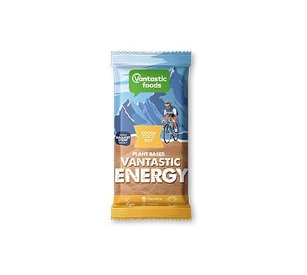Vantastic foods VANTASTIC ENERGY cocoa coconut energy bar, 68g