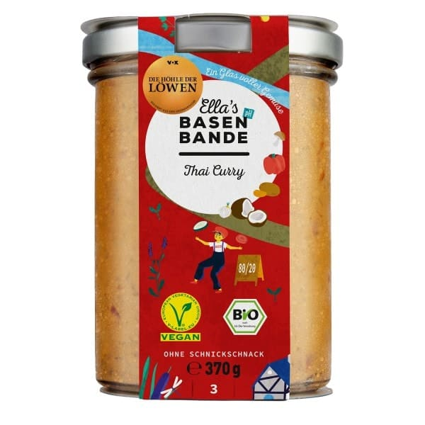 Ella´s Basenbande THAI CURRY, BIO, 370g