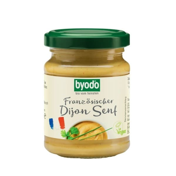 Byodo DIJON SENF (hot), organic, 125ml