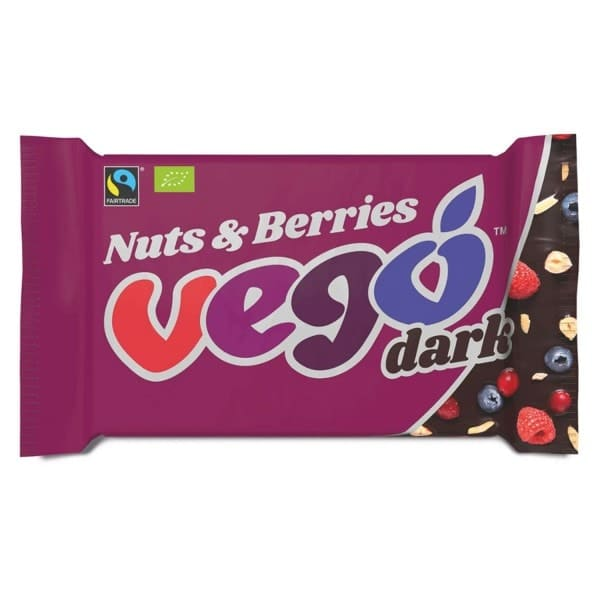 Vego DARK NUTS & BERRIES, BIO, 85g