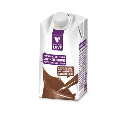Made with Luve LUPINE DRINK Chocolate, 500ml