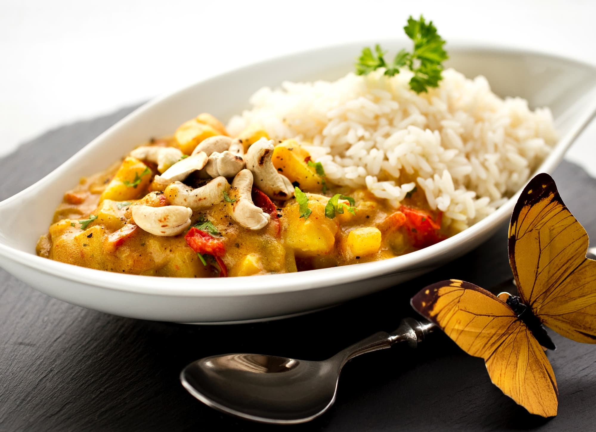 Cashew-Potato Curry