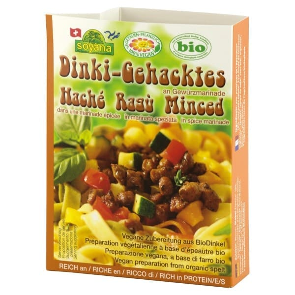 Soyana Organic DINKI MINCE with Marinade, 200g