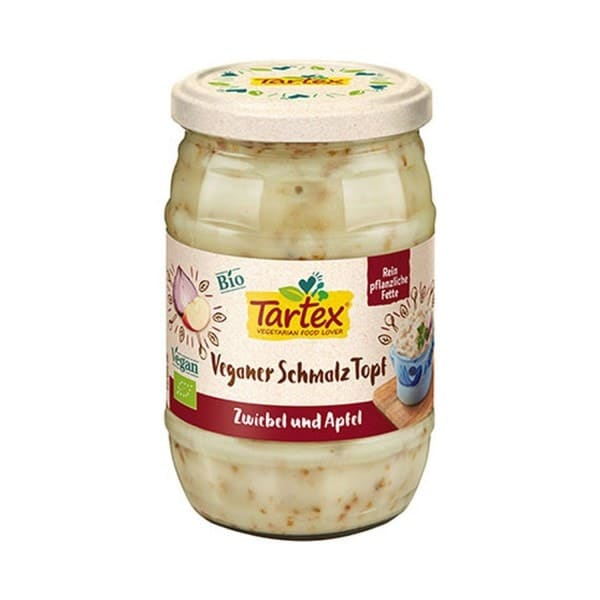Tartex VEGANER SCHMALZ KOTT ONIONS AND APPLES, ORGANIC, 250g