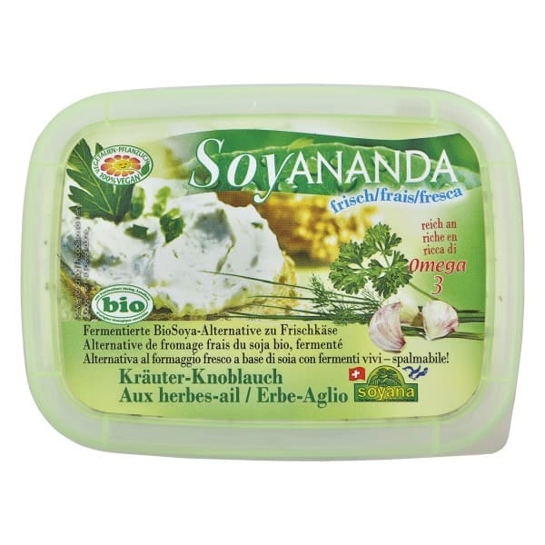 Soyana SOYANANDA Fresh Spread Green Pepper, organic, 140g