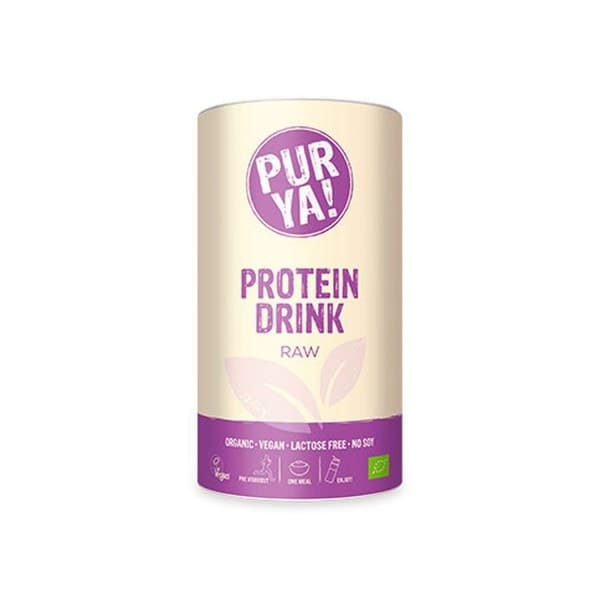 PurYa! VEGAN PROTEIN DRINK Raw Energy, BIO, 550g