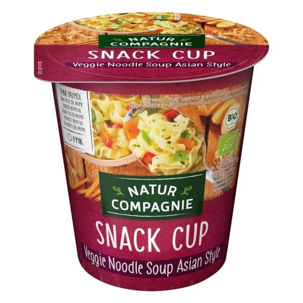 Natur Compagnie ASIA vegetable and noodle soup, organic, 255ml