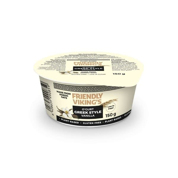 Friendly Viking's O'GURT GREEK STYLE Vanille, 150g
