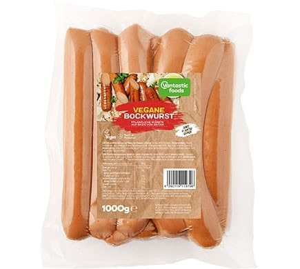 Vantastic foods VEGAN BOCKWURST big pack, 1kg