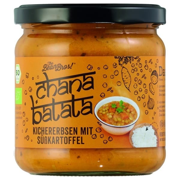 The Bean Bros CHANA BATATA chickpeas with sweet potato, organic, 380g