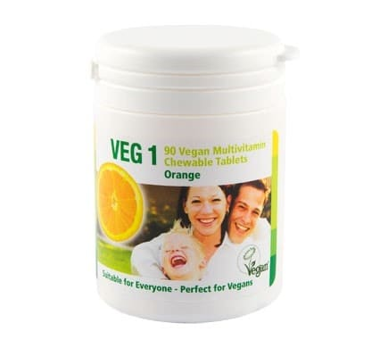 VEG 1 Vitaminsupplement Orange