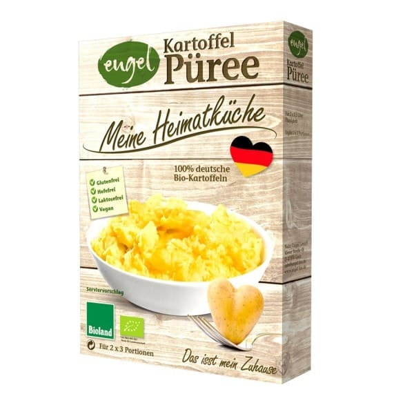 Engel POTATO PUREE, organic, 2x80g
