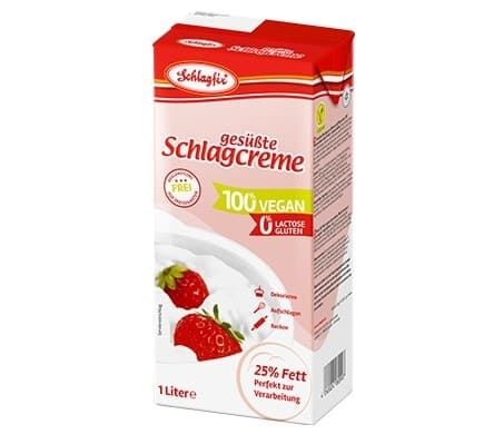 Schlagfix SWEETENED WHIPPING FROTH as tetrapack, 1000ml
