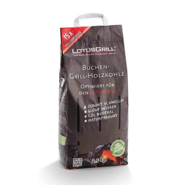 LotusGrill BEECH CHARCOAL, 2,5 kg
