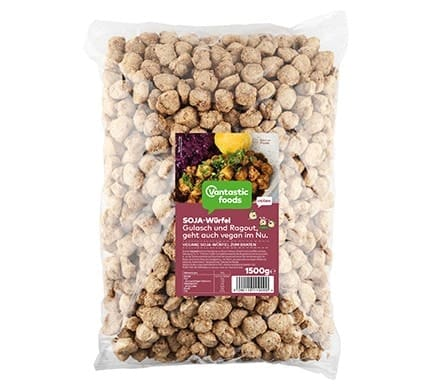 Vantastic foods VANTASTIC CUBES from soy, 1,5kg (family pack)