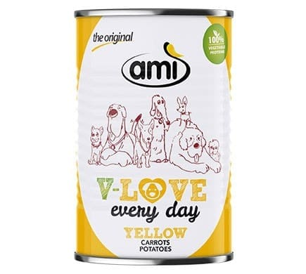 Bild für Ami V-LOVE every day YELLOW Karotte Kartoffel