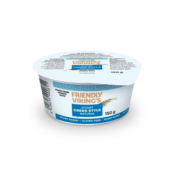 Friendly Viking's O'GURT GREEK STYLE Natur, 150g