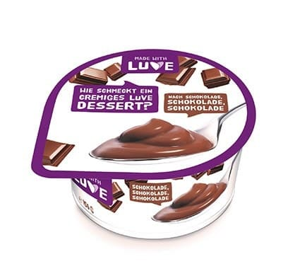 Made with Luve LUPINEN DESSERT Schokolade, 150g