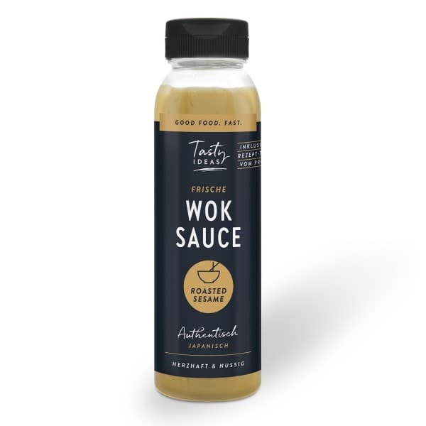 Tasty Ideas WOK SAUCE Roasted Sesame, 300ml