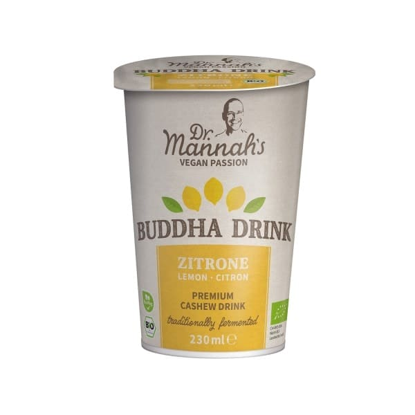 Happy Cashew BUDDHA-DRINK Lemon, ORGANIC, 230ml