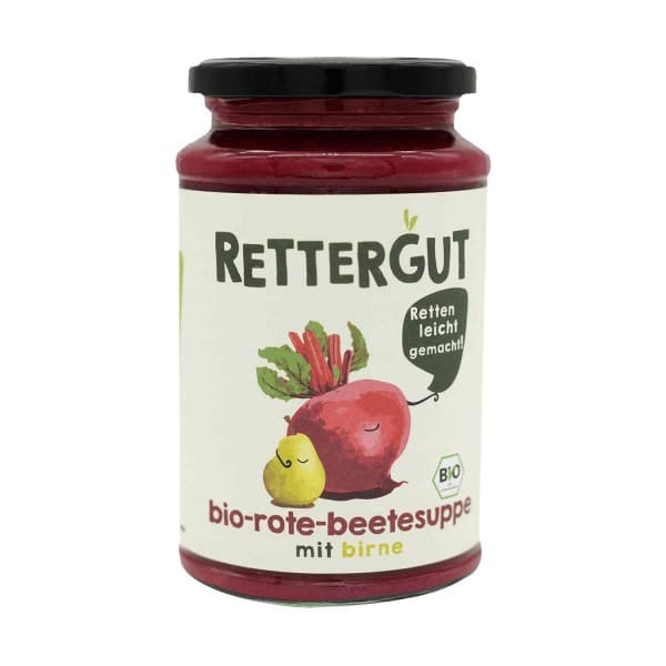 Rettergut SOUP beetroot with pear, ORGANIC, 390g