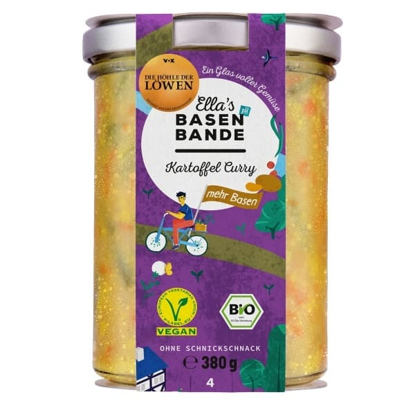 Ella´s Basenbande POTATO CURRY, organic, 380g