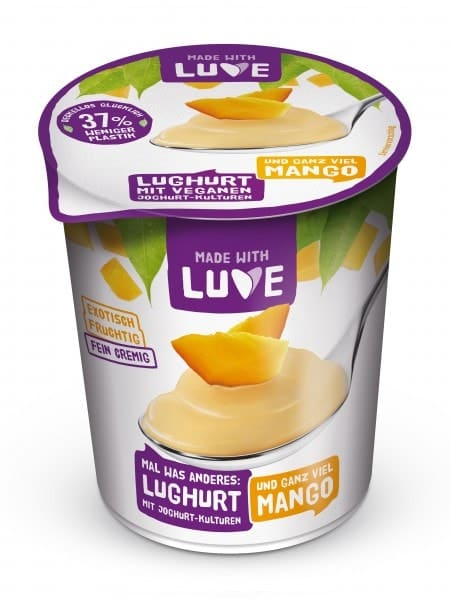Made with Luve LUGHURT mango, 500g