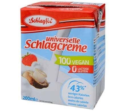Schlagfix UNIVERSELAL WHIPPING FROTH as tetrapack, 200ml