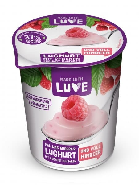 Made with Luve LUGHURT Himbeer, 500g