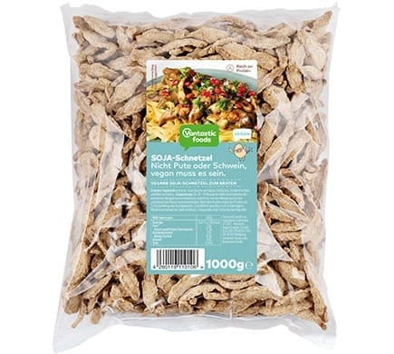 Vantastic foods VANTASTIC SCHNETZEL from soy, 1kg (family pack)