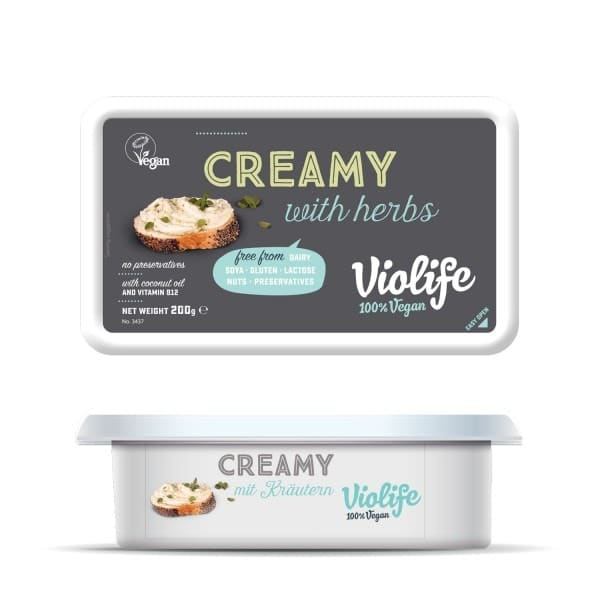 Violife CREAMY with herbs, 200g