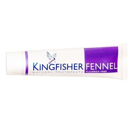 KINGFISHER Toothpaste Fennel Fluoride Free, 100ml