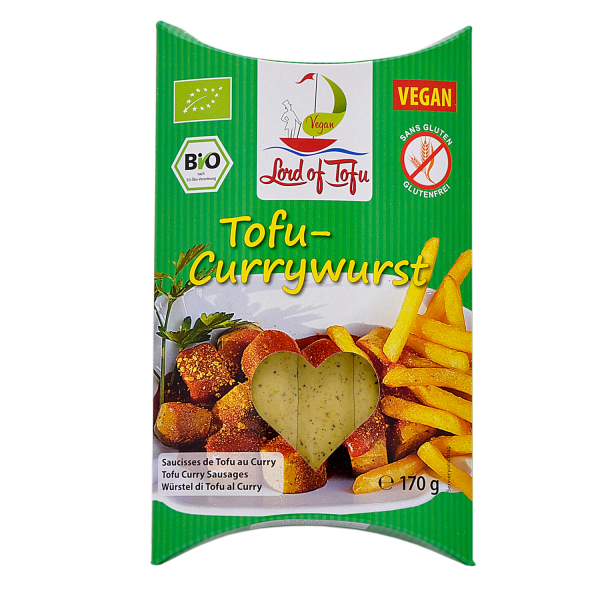 Lord of Tofu TOFU-CURRYWURST, ORGANIC, 170g