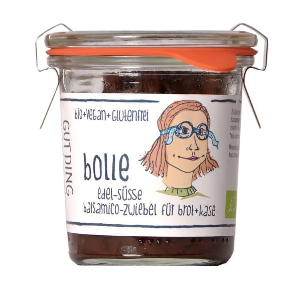GUTDING BOLLE noble-sweet balsamic vinegar onion, organic, 100g