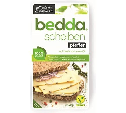 bedda SLICES black pepper, 150g