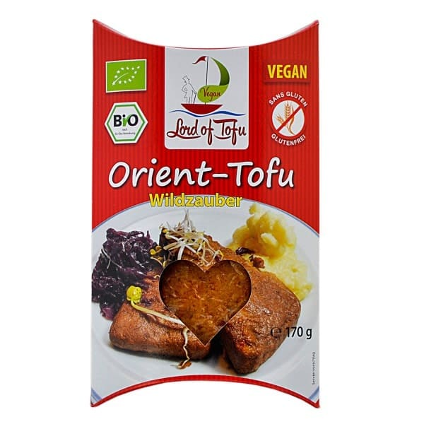 Lord of Tofu ORIENT-TOFU wild magic, organic, 170g