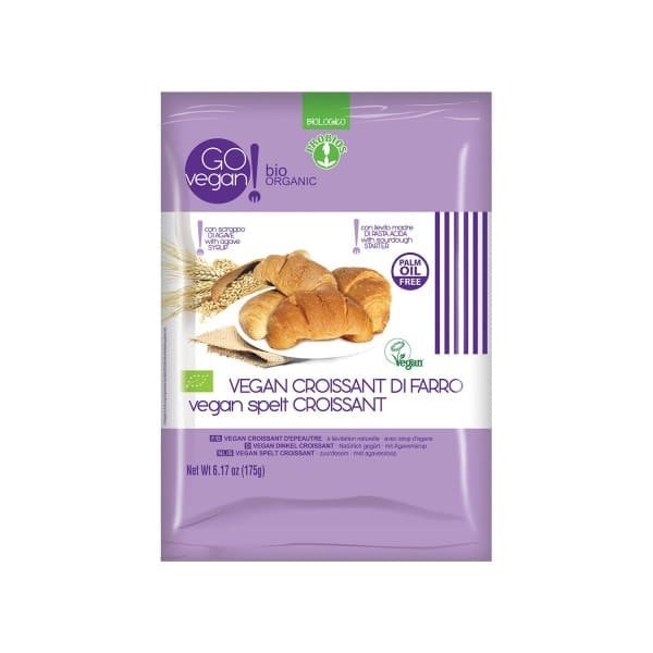GOvegan Bio Dinkelcroissants, 175g